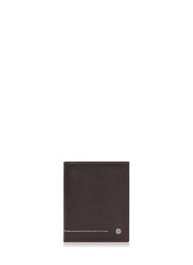 Cengiz Pakel Hakiki Deri Erkek Cüzdan 13643-Kahve-Taba Renkli
